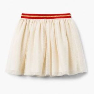 Gymboree Girl's Tulle Lined Cream Skirt NWT!